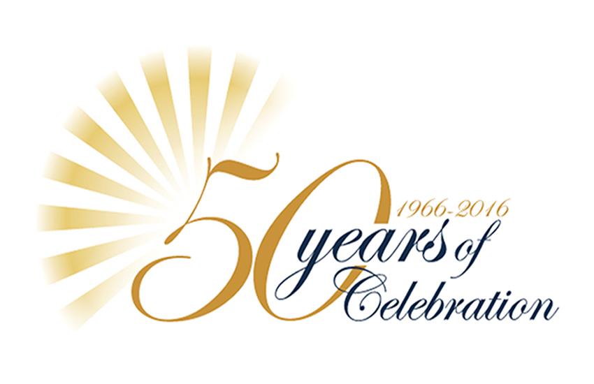 Free download of Golden Jubilee vector logos
