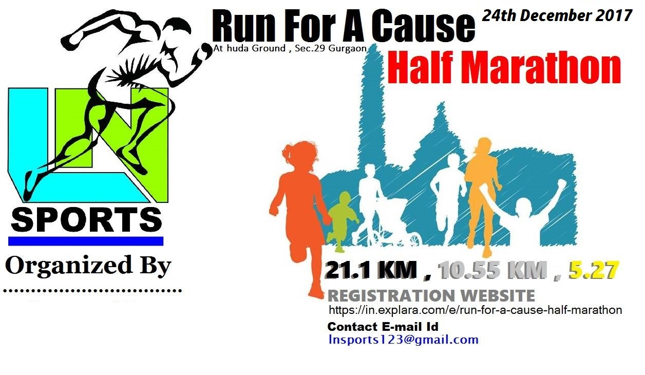 Run For A Cause Half Marathon - Explara