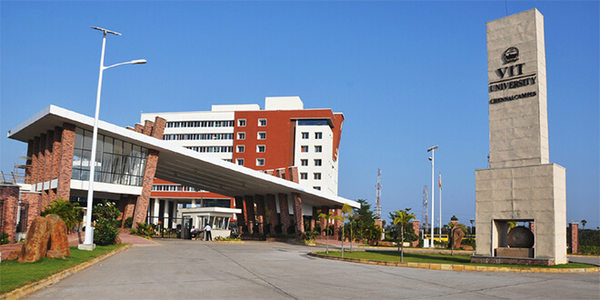 Admission in VIT University, Vellore