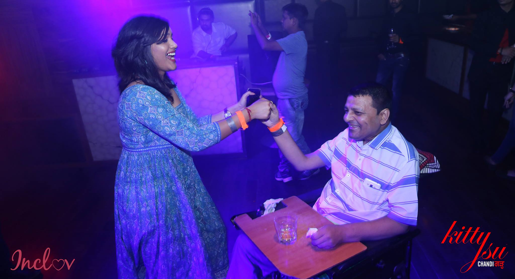Inclov Social Spaces in partnership with Enable Travel at Kitty Su- Mumbai