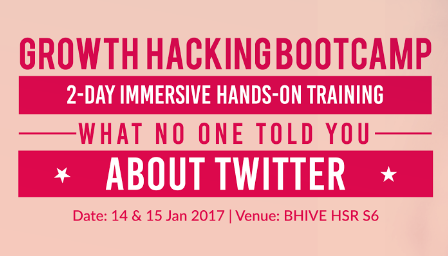 Growth Hacking Twitter Bootcamp - Explara