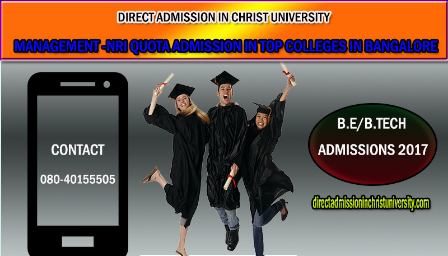 Direct admission in CHRIST UNIVERSITY, Bangalore 2017-18 - Explara