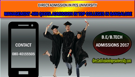 Direct admission in PES UNIVERSITY, Bangalore 2017-18 - Explara