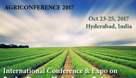 International Conference and Expo on Agriculture and Veterinary Sciences:Research and Technology PJTSAU - Explara