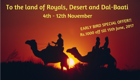 [All women Trip] To the land of Royals, Desert and Dal-Baati - Explara