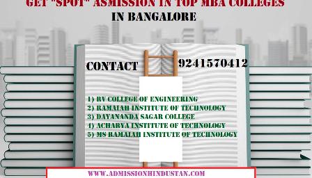 RV COLLEGE OF ENGINEERING Through Bangalore management quota