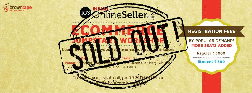 SOLD OUT! Ecommerce JumpStart Workshop Goa - Explara