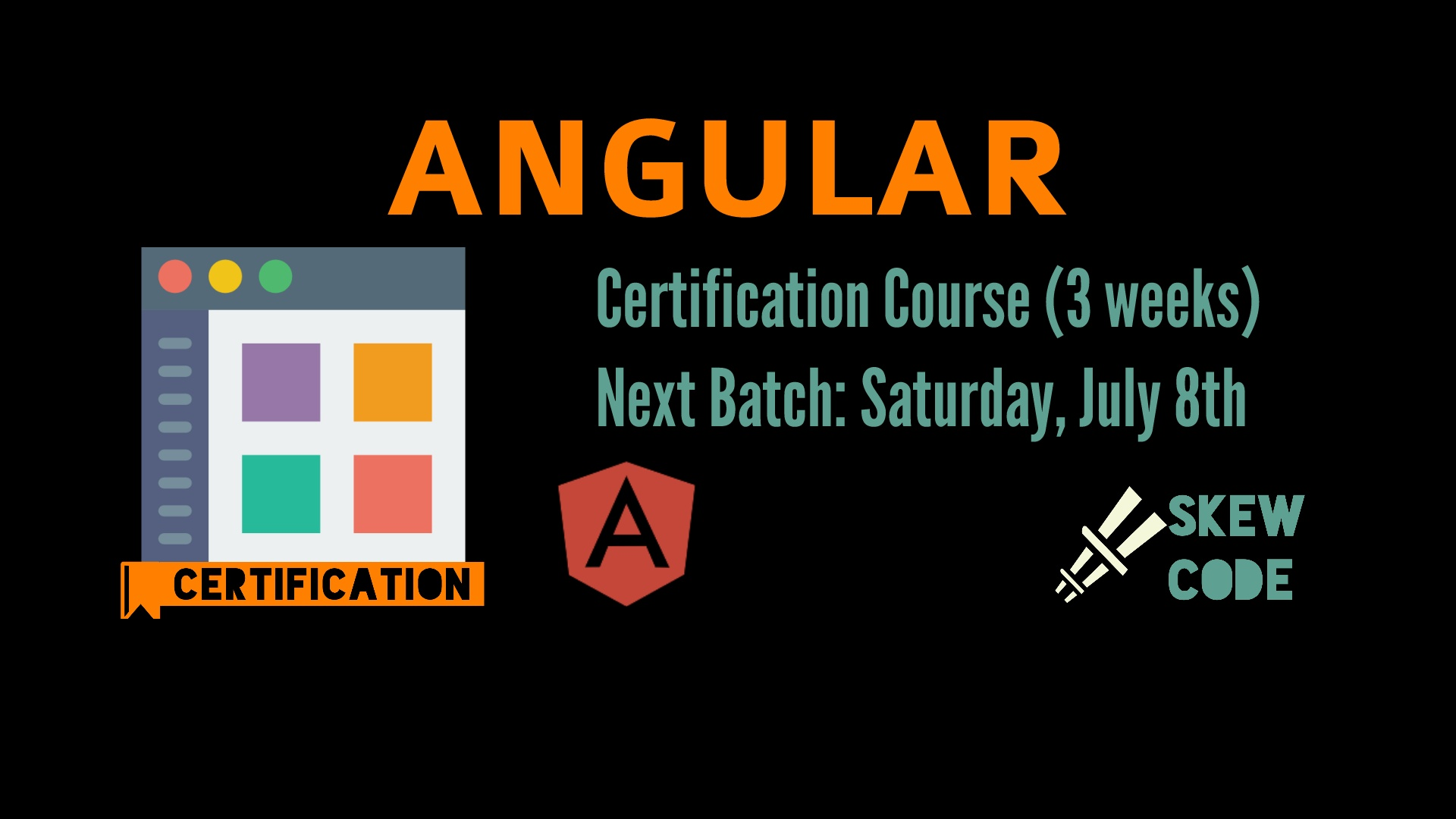 Book Certification Course In Angular 3 Weeks Tickets Bengaluru