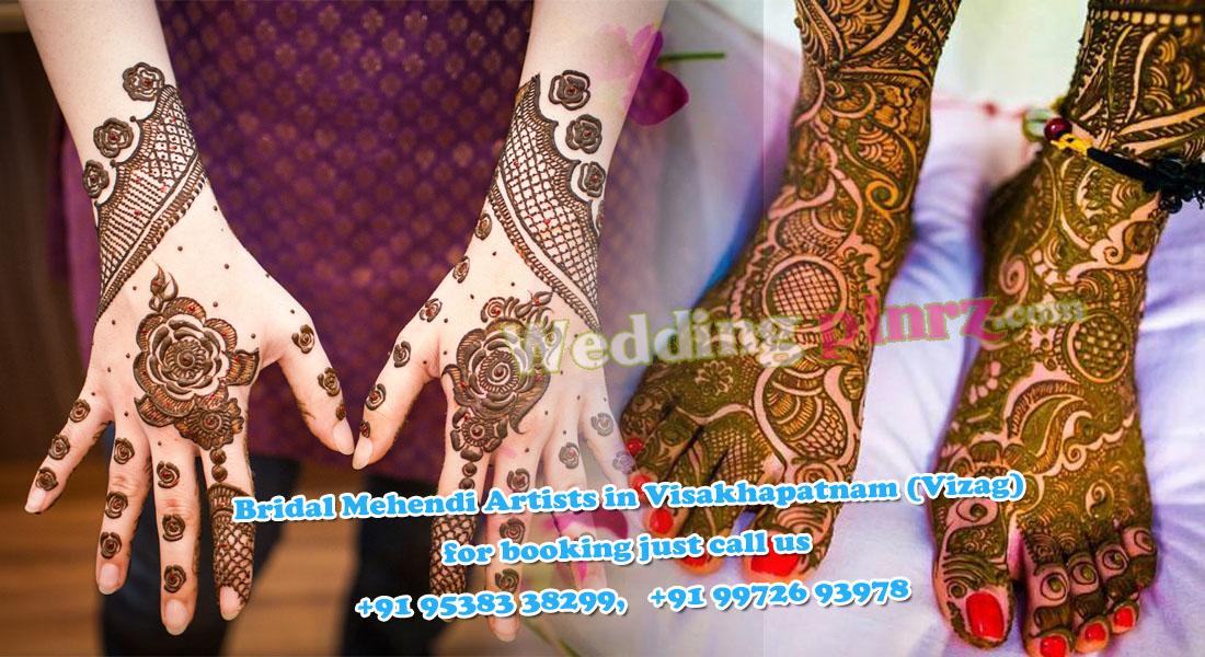 Bridal Mehndi In Bangalore : Mehendi artists in vizag bridal mehndi artist visakhapatnam
