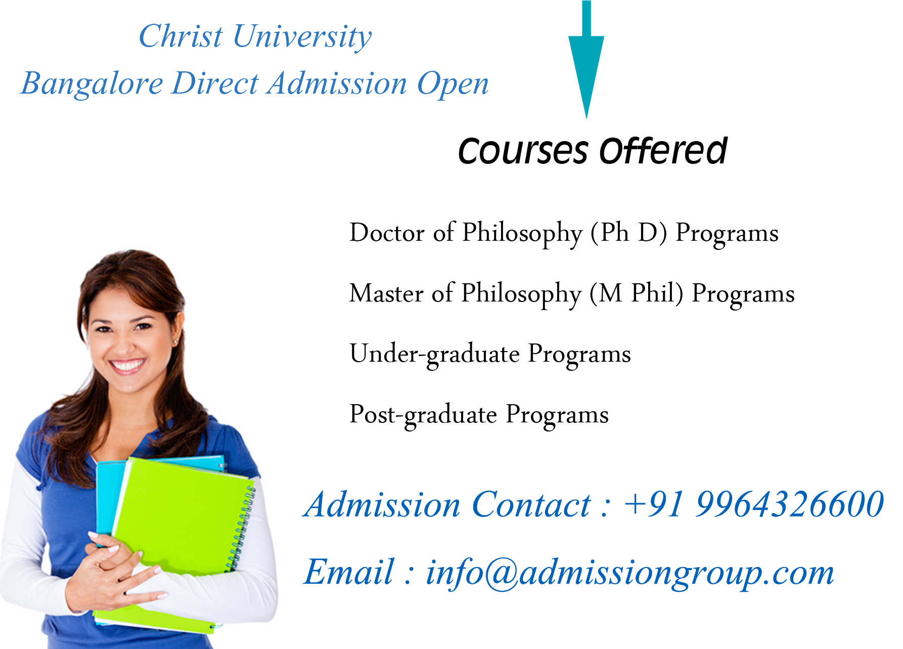 CHRIST UNIVERSITY FEE STRUCTURE - 9964326600