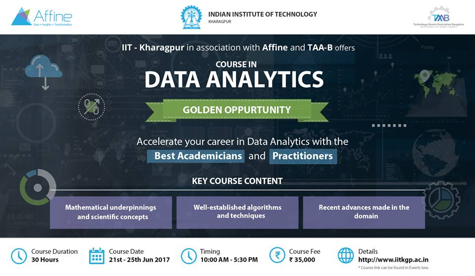 Course in Data Analytics - Explara