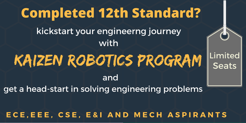 Kaizen Robotics Program - Exclusive Class 12 Crash Course - Explara