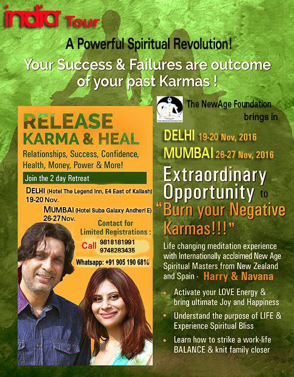 Book RELEASE KARMA And HEALING With Harry & Navana tickets ...