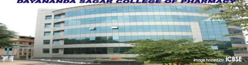 DAYANANDA SAGAR COLLEGE OF PHARMACY ADMISSION