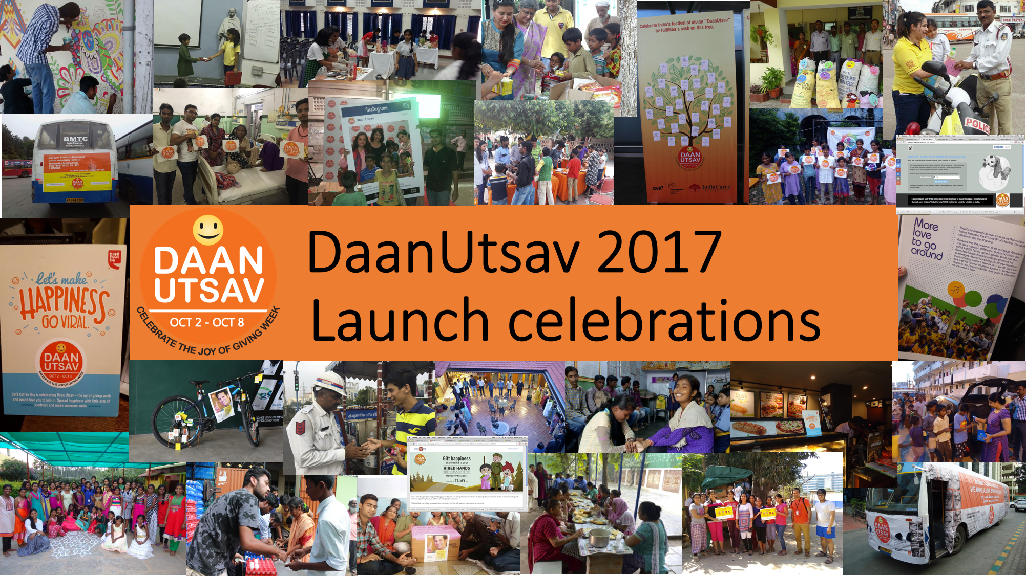 DaanUtsav 2017 Launch  - Explara