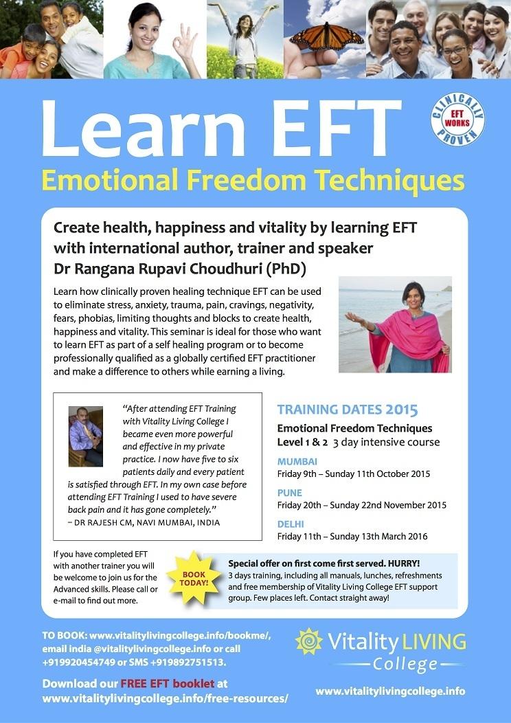 Emotional Freedom Techniques (EFT) - Emotional Health
