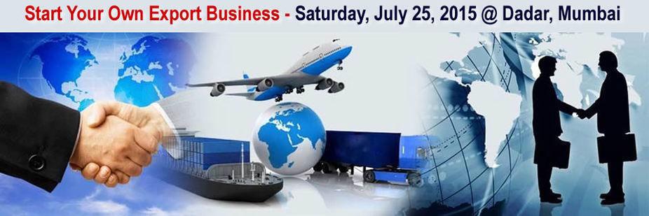 Export Import Workshop Mumbai, Full Day Training