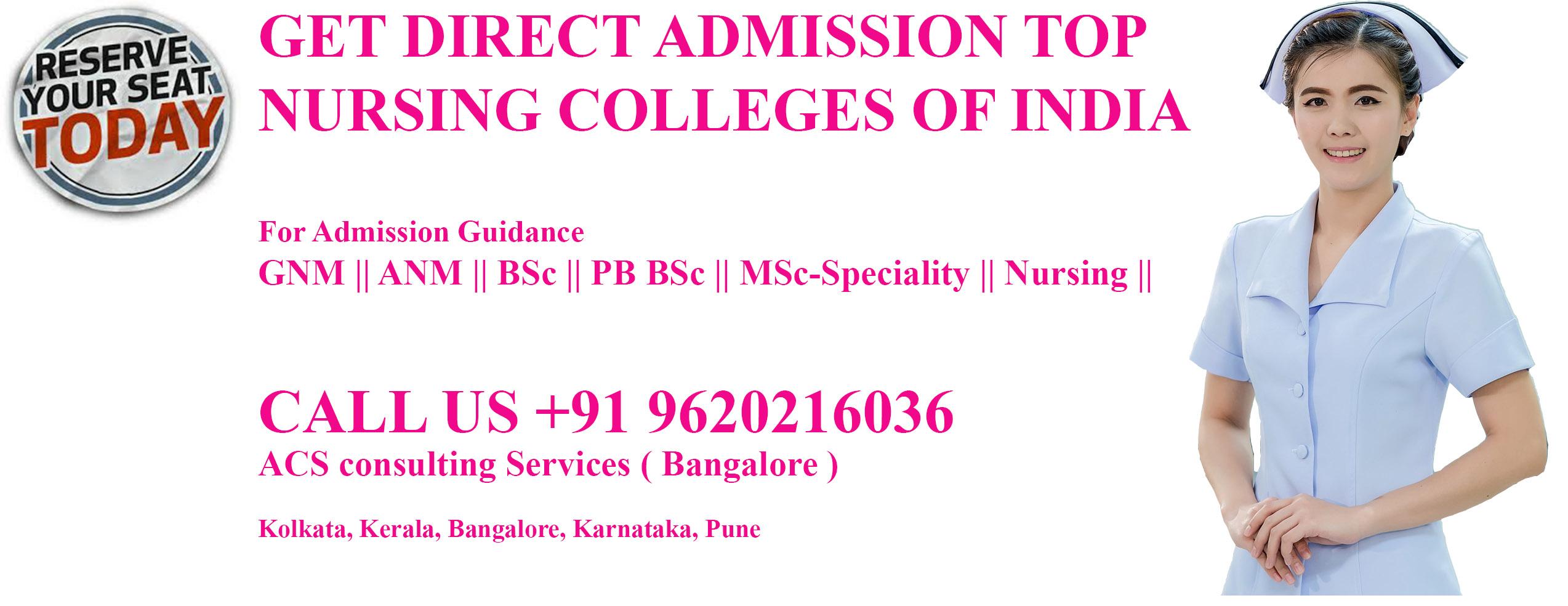 direct admission in kolkata west Bengal nursing colleges direct