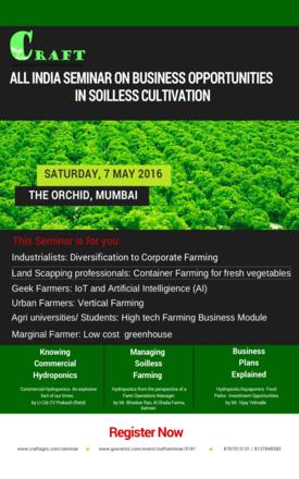 Hydroponics, Aquaponics, Soilless farming, Cultivation, Startup
