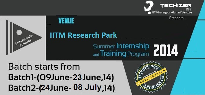 summer training iitm The scientist in question has to then indicate on this official request letter that he / she accepts the student as a summer trainee for the duration of the project at the end of the summer training period, the student is expected to submit a report detailing the work that he / she has done during the period of summer training.