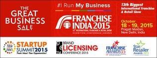 FRANCHISE INDIA  2015 ( 13TH INTERNATIONAL FRANCHISE & RETAIL SHOW )