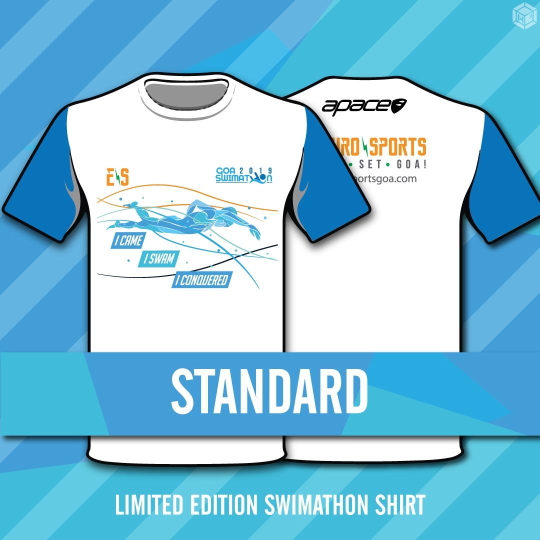 Limited edition Goa Swimathon 2019 t-shirts