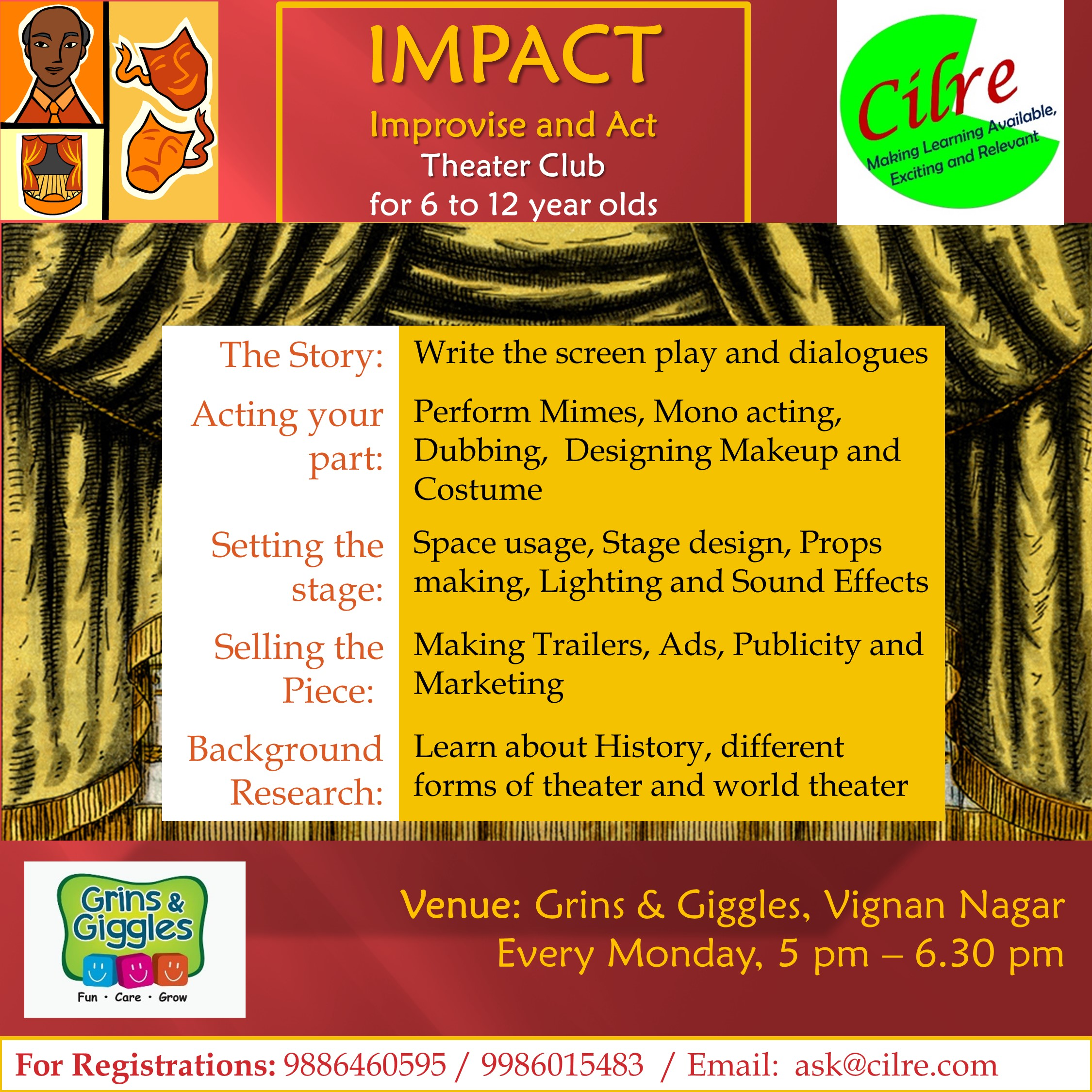 Impact at Grins & Giggles