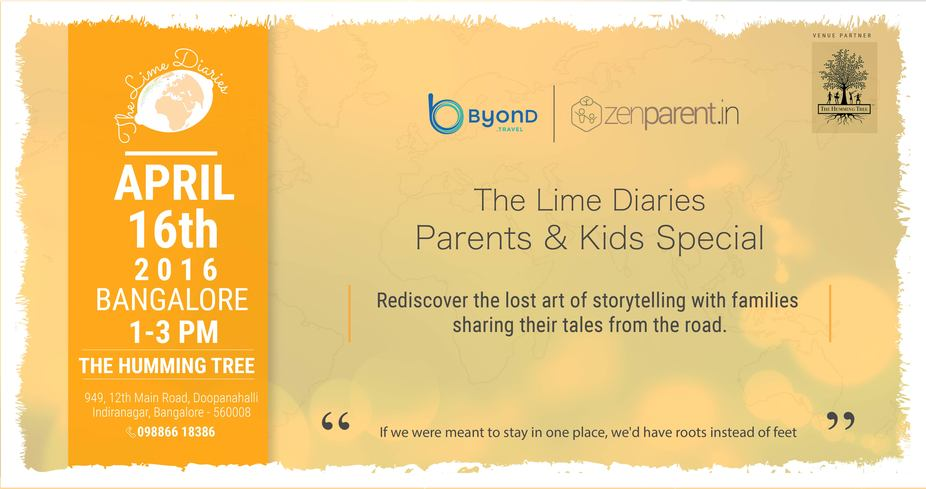 The Lime Diaries - Parents & Kids Special - Explara