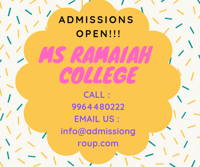 9964480222-where do we get ms ramaiah college admission form