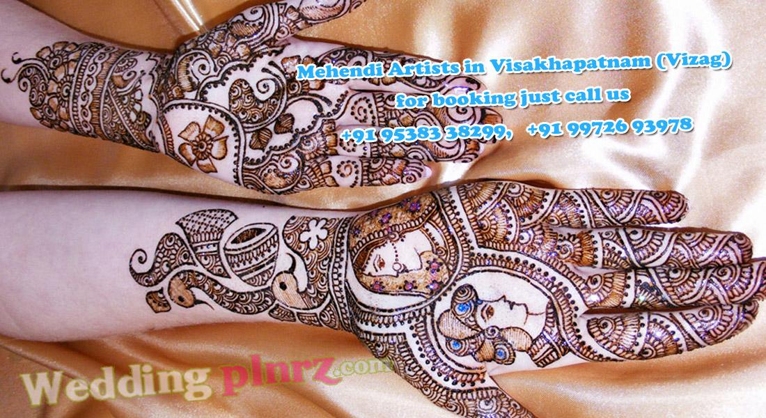 Mehndi Artist : Mehendi artists in vizag bridal mehndi artist visakhapatnam