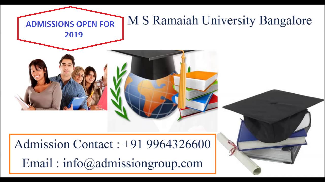 9964480222-ms ramaiah college admission procedure
