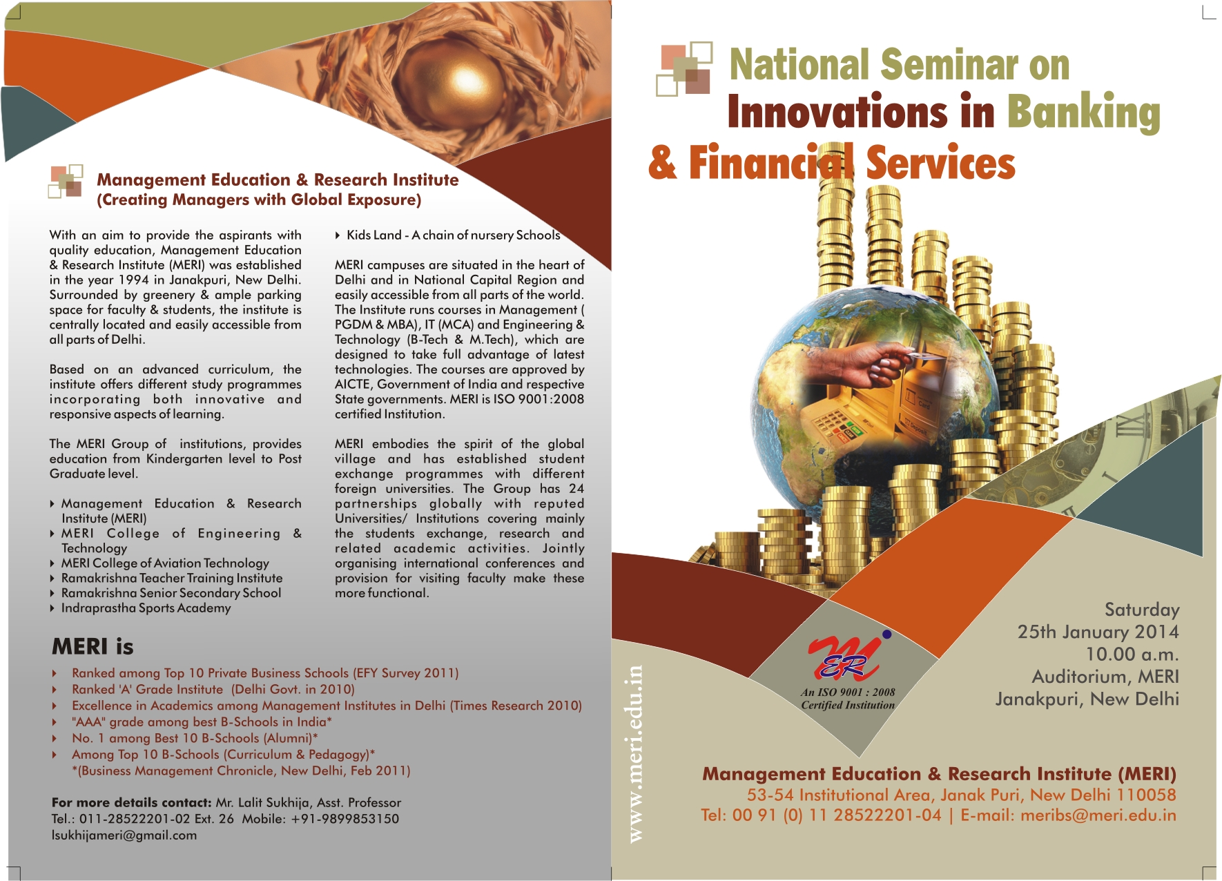 Book National Seminar On Innovations In Banking And