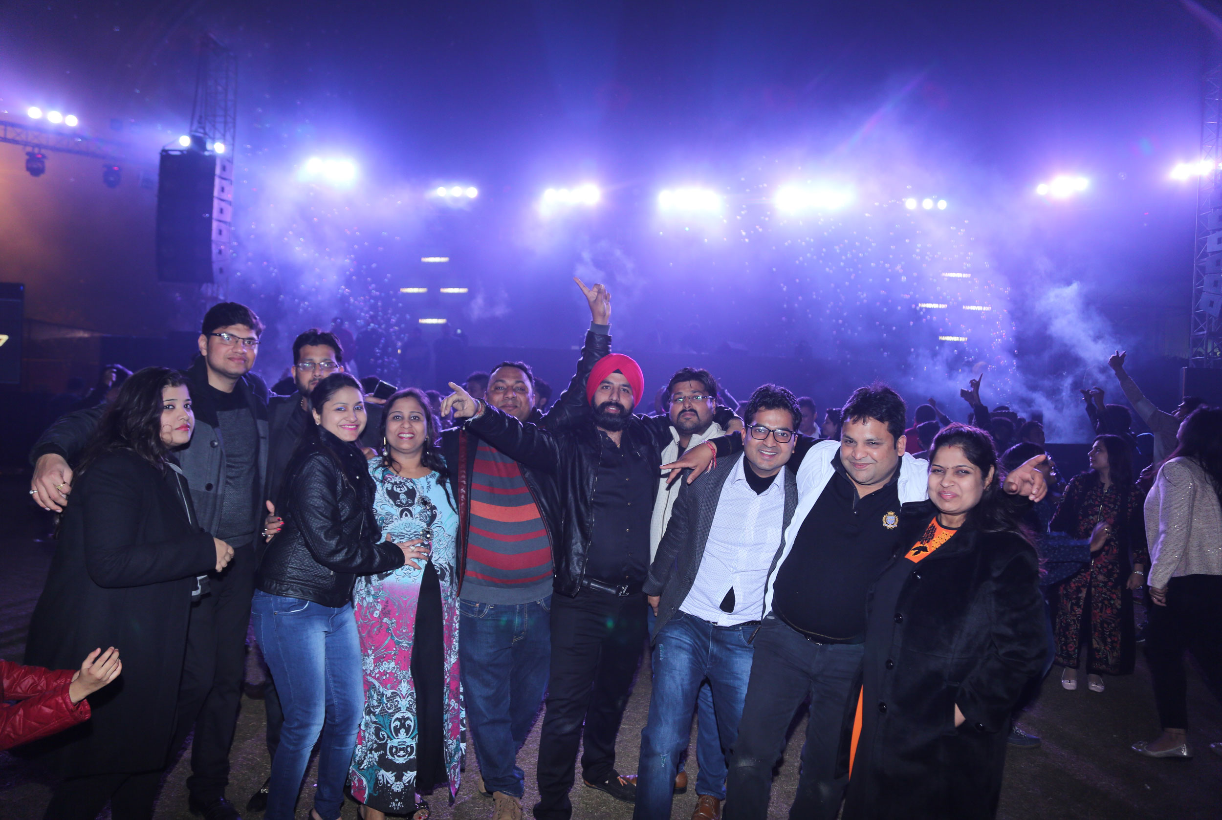 Previous Year Images of New Year Party