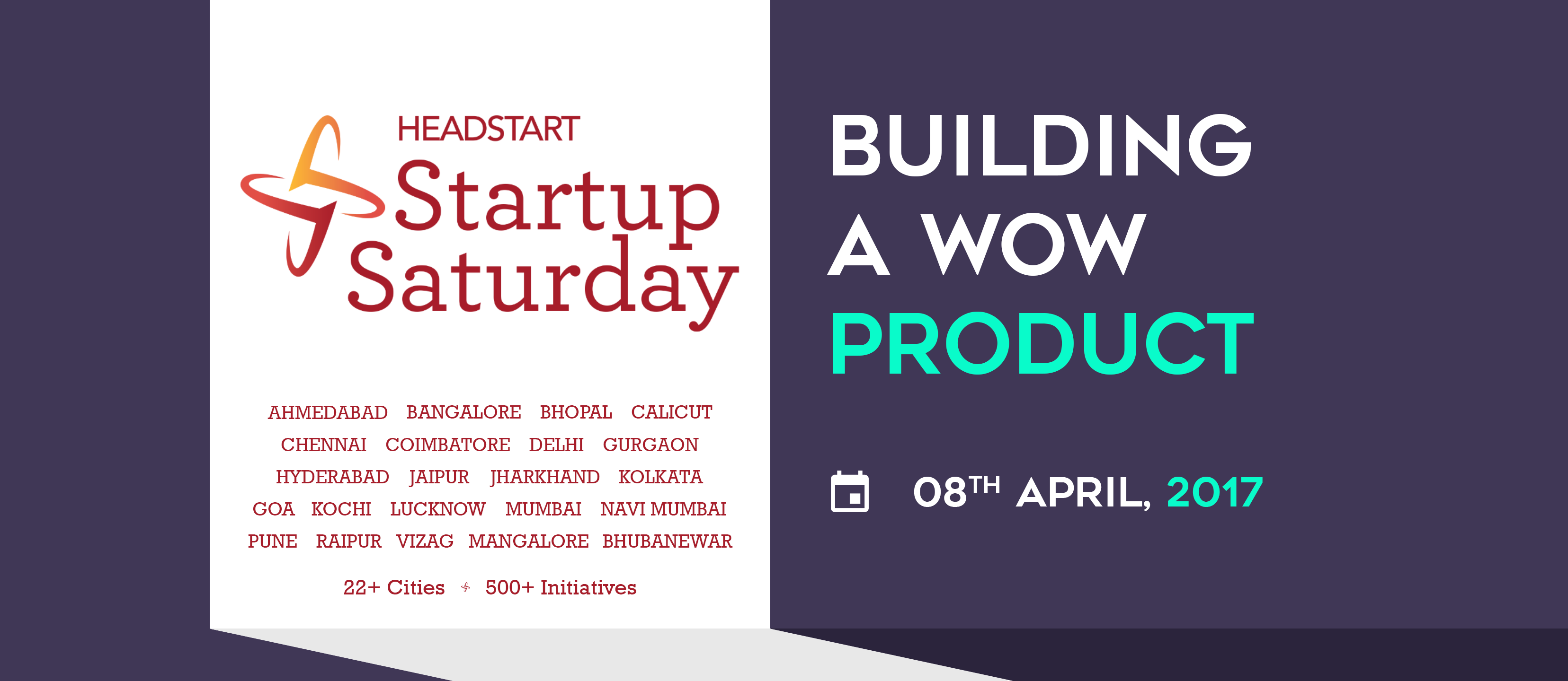 Startup Saturday Kochi - Building a Wow Product - Explara