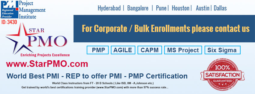 Book PMP Certification Program In Hyderabad Batches Starts From 18th ...