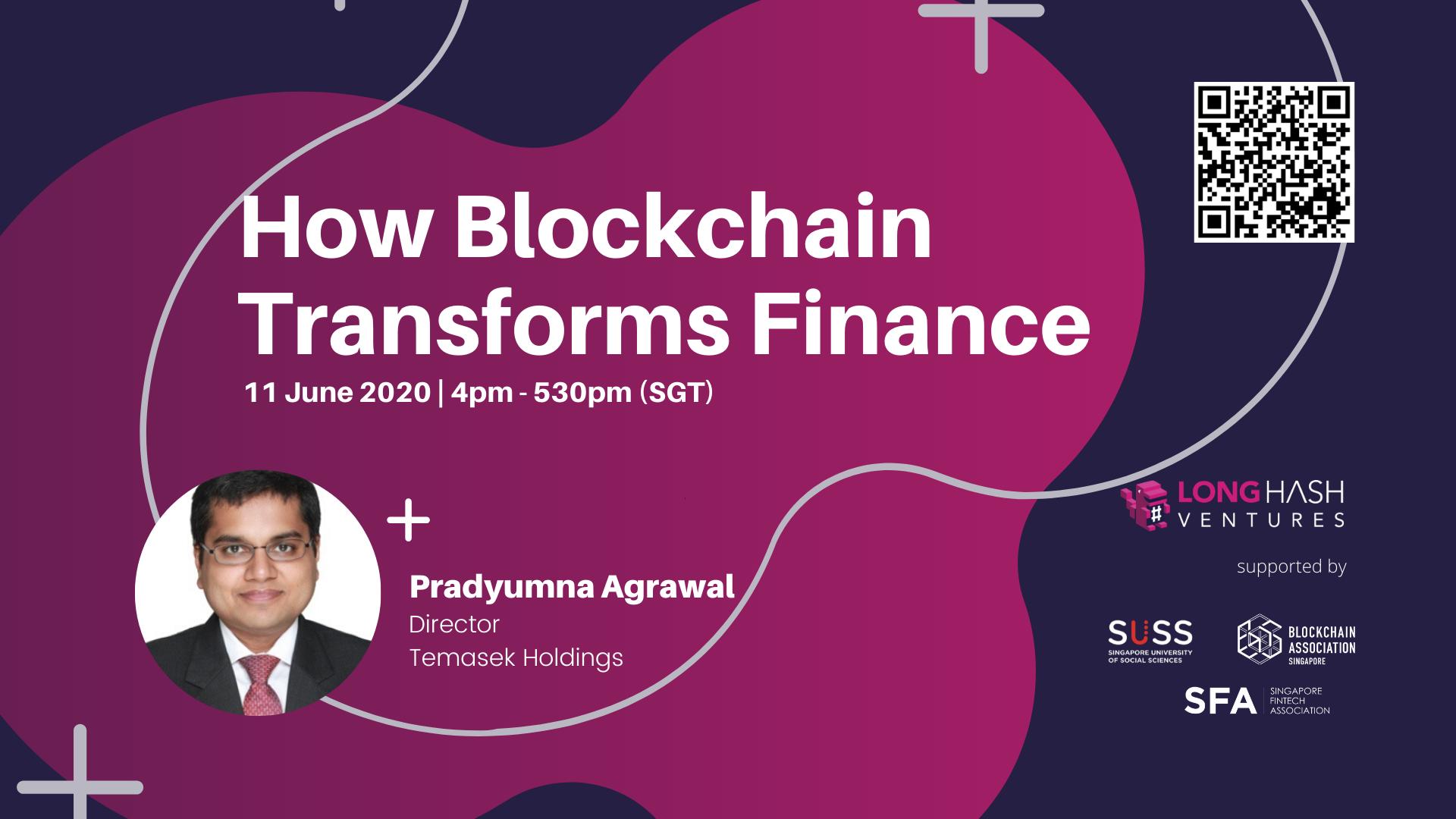 How Blockchain Transforms Finance with Pradyumna Agrawal